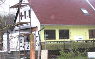 Přístavba verandy a komplexní zateplení včetně omítky